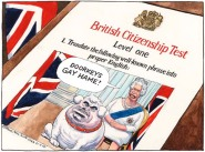 Citizenship by Steve Bell, The Guardian