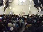 The Respect meeting on Gaza is a success