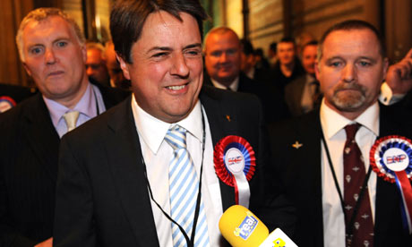 The BNP have gained two seats in the European parliament