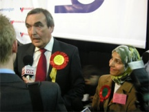 Salma Yaqoob slashed Roger Godsiff's election majority in 2005