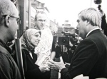 Salma Yaqoob confronts Roger Godsiff MP in 2005