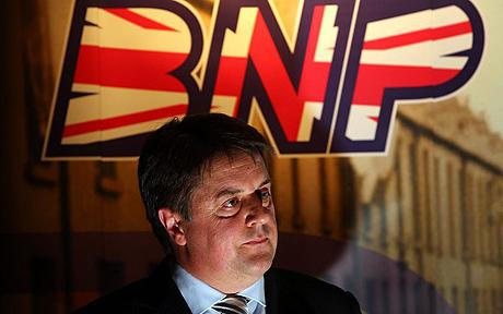 Nick Griffin: the leader of the BNP has admitted defeat after failing to find enough far-Right allies to form a new bloc in the European Parliament