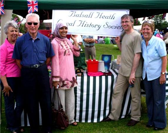 Salma Yaqoob at the Balsall Heath Carnival (Photo courtesy of Paulo Riddle)